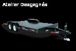 Steel Deck Car Hauler